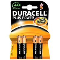 Duracell  Plus Power Batteries - AAA