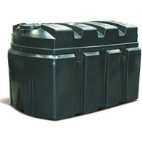 Kingspan Titan  EcoSafe Bunded Vertical Oil Tank Bottom Outlet - 2,500 Litre