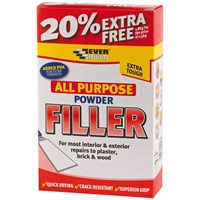 Everbuild  All Purpose Powder Filler - 1.5kg + 20% Extra Free