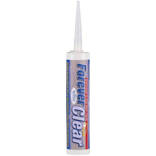 Everbuild Forever Clear Silicone Sealant - 310ml