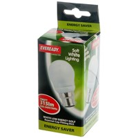 Eveready  CFL Golf Light Bulb - 7W BC