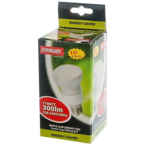 Eveready  CFL Reflector Light Bulb - 11W ES