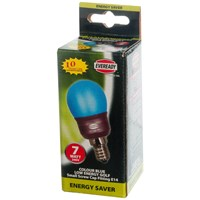 Eveready  CFL Blue Golf Light Bulb - 7W ES