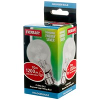 Eveready  Eco Halogen Light Bulb - 70W BC