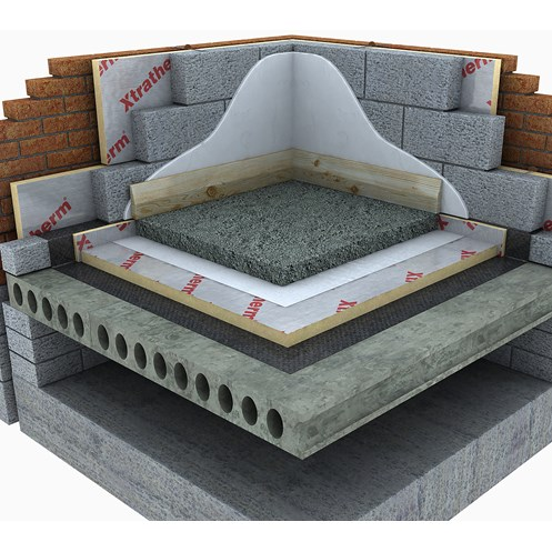 Xtratherm  Under Floor Insulation - 2400 x 1200mm