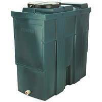 Kingspan Titan  EcoSafe Bunded Slim Vertical Oil Tank Bottom Outlet - 650 Litre