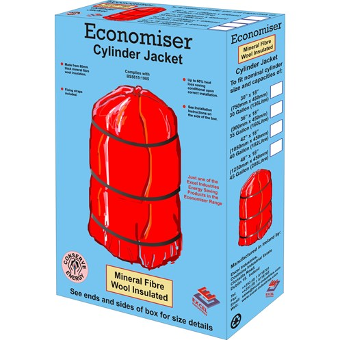 Economiser  Hot Water Cylinder Jacket - 42 x 18in