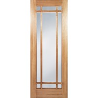 Seadec  Arizona Glazed Prefinished Interior Oak Door - 813 x 2032 x 44mm