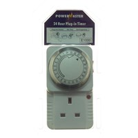 Powermaster  24 Hour Plug-In Timer - 13 Amp